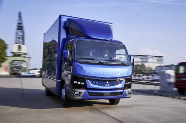 UK launch for Fuso eCanter