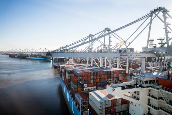 Konecranes books 28 container cranes from Georgia Ports Authority