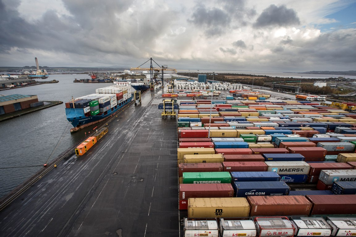 The Port of Grangemouth is Forth Ports' premier Scottish operation