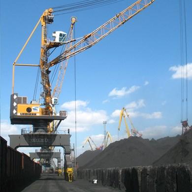 An existing Liebherr LPS crane (model 280)