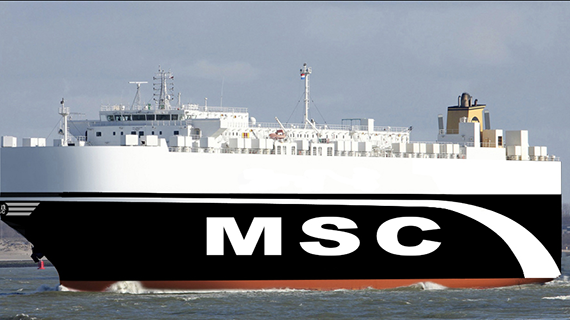 Second MSC ro-ro link