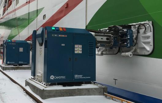 Cavotec systems are installed across Scandinavian ports