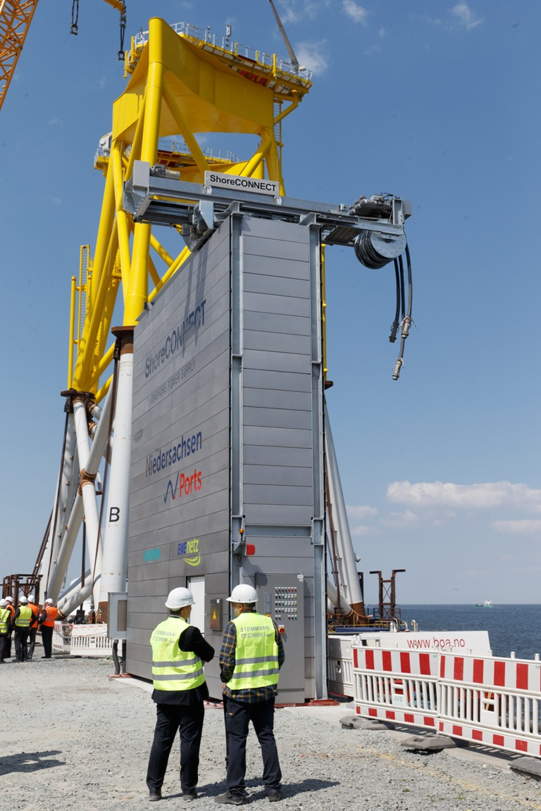 Installation of Silharbor at offshore ro-ro berth