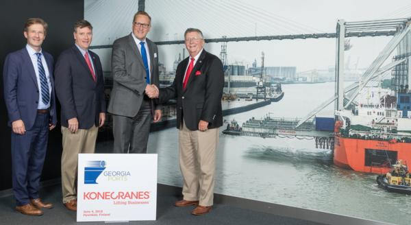 Ten more Konecranes RTGs for GPA