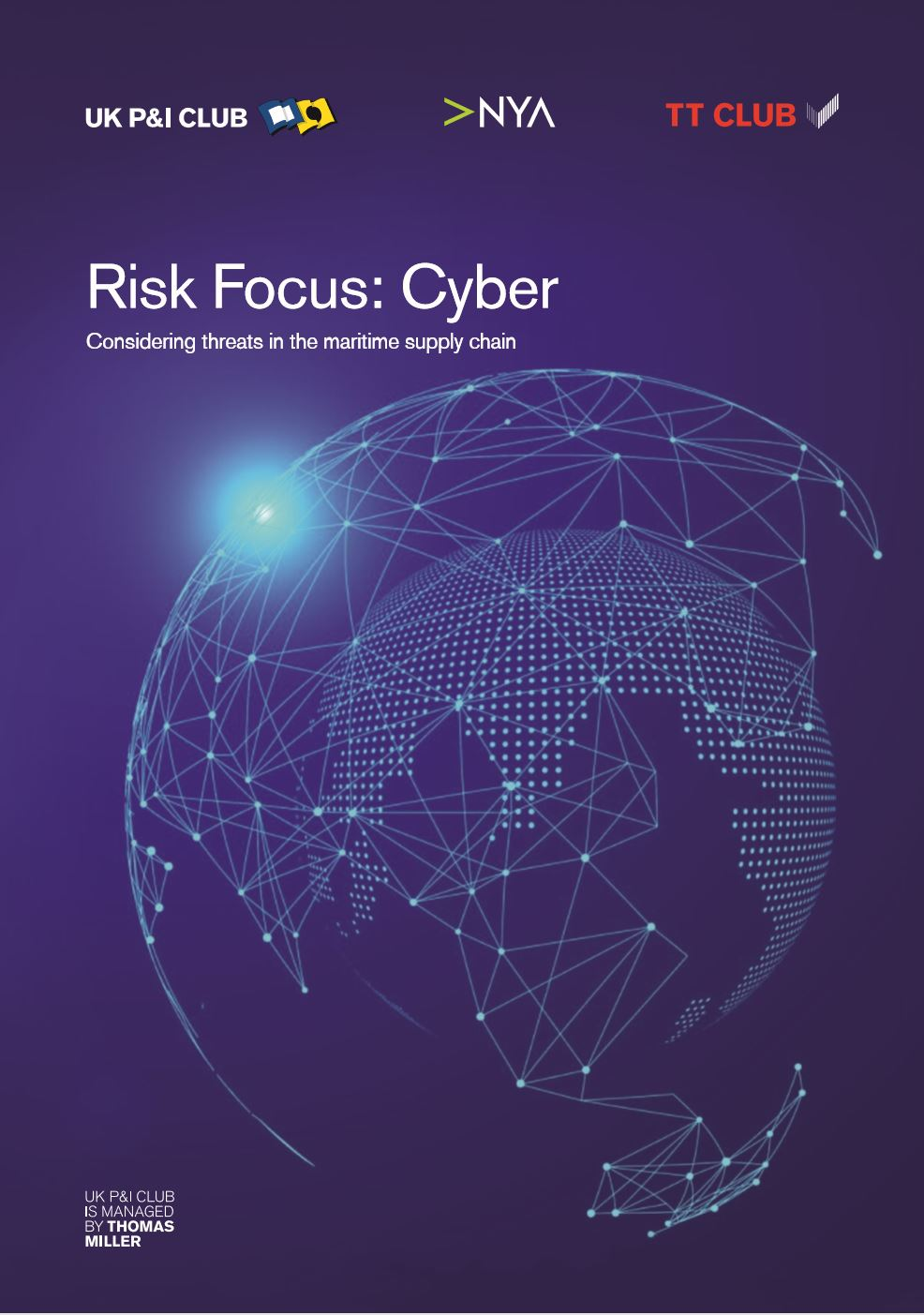 Risk Focus: Cyber - Considering threats in the maritime supply chain