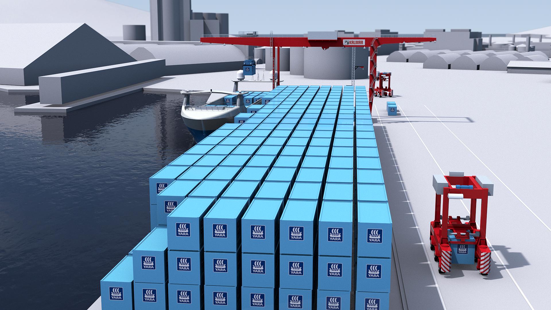 Fully digital, autonomous terminal for Yara