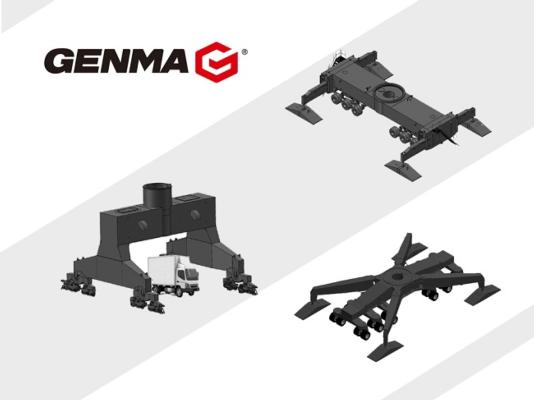 Genma's existing undercarriage options
