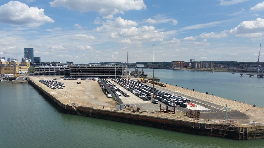 Southampton already caters for around 850,000 new car moves annually