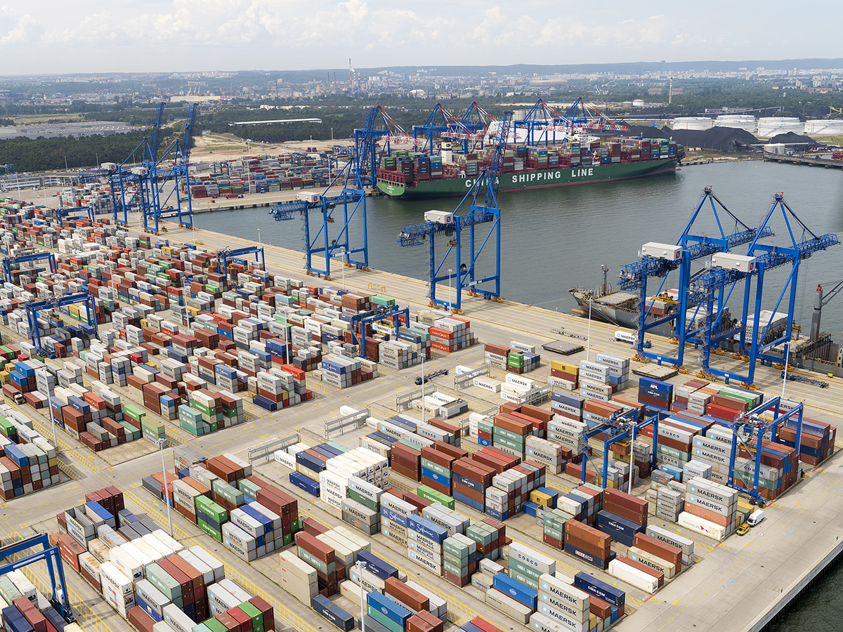 DCT Gdansk has emerged as a hub port for the Baltic Sea region
