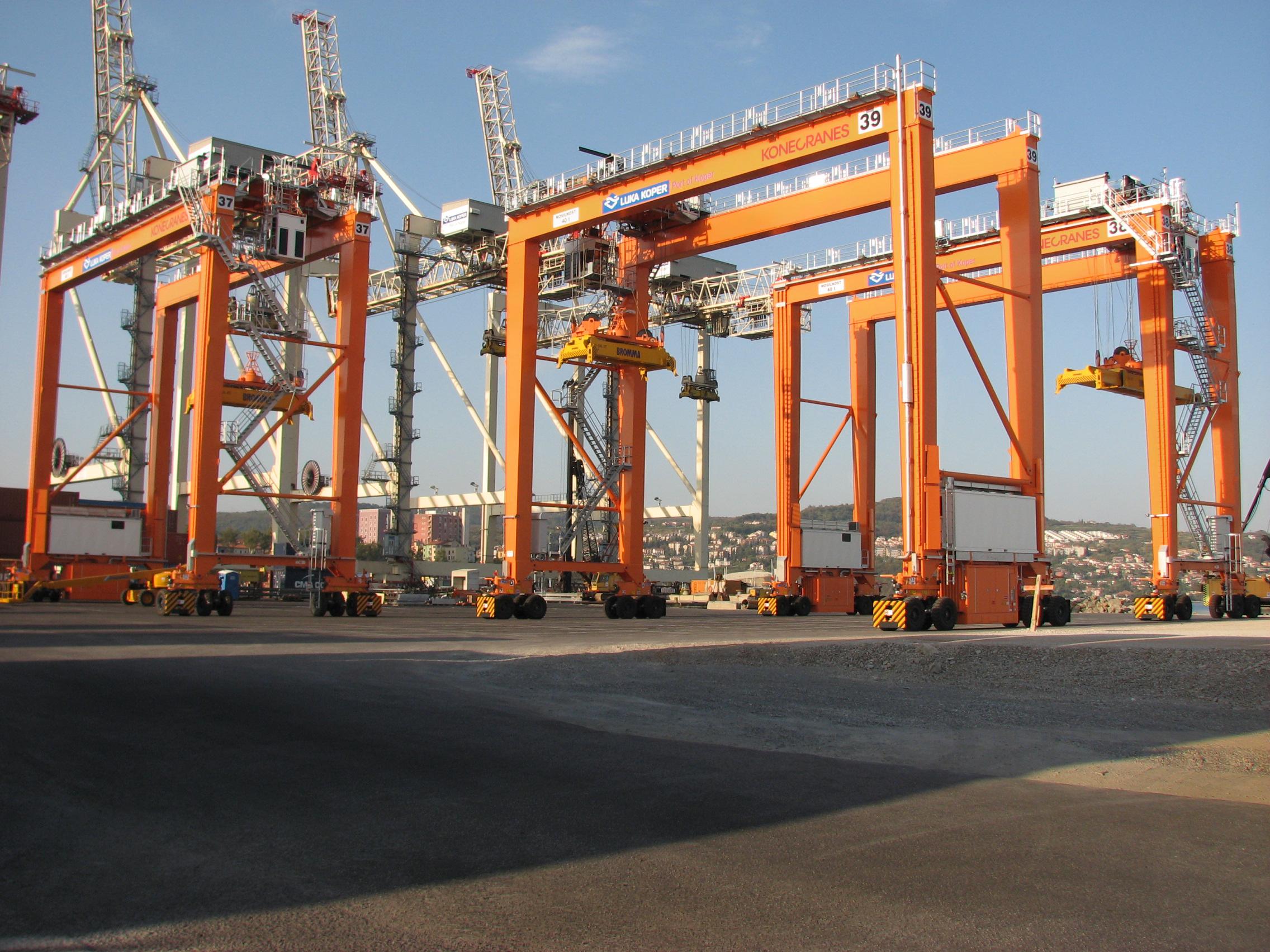 The Port of Koper has been a customer of Konecranes for 14 years