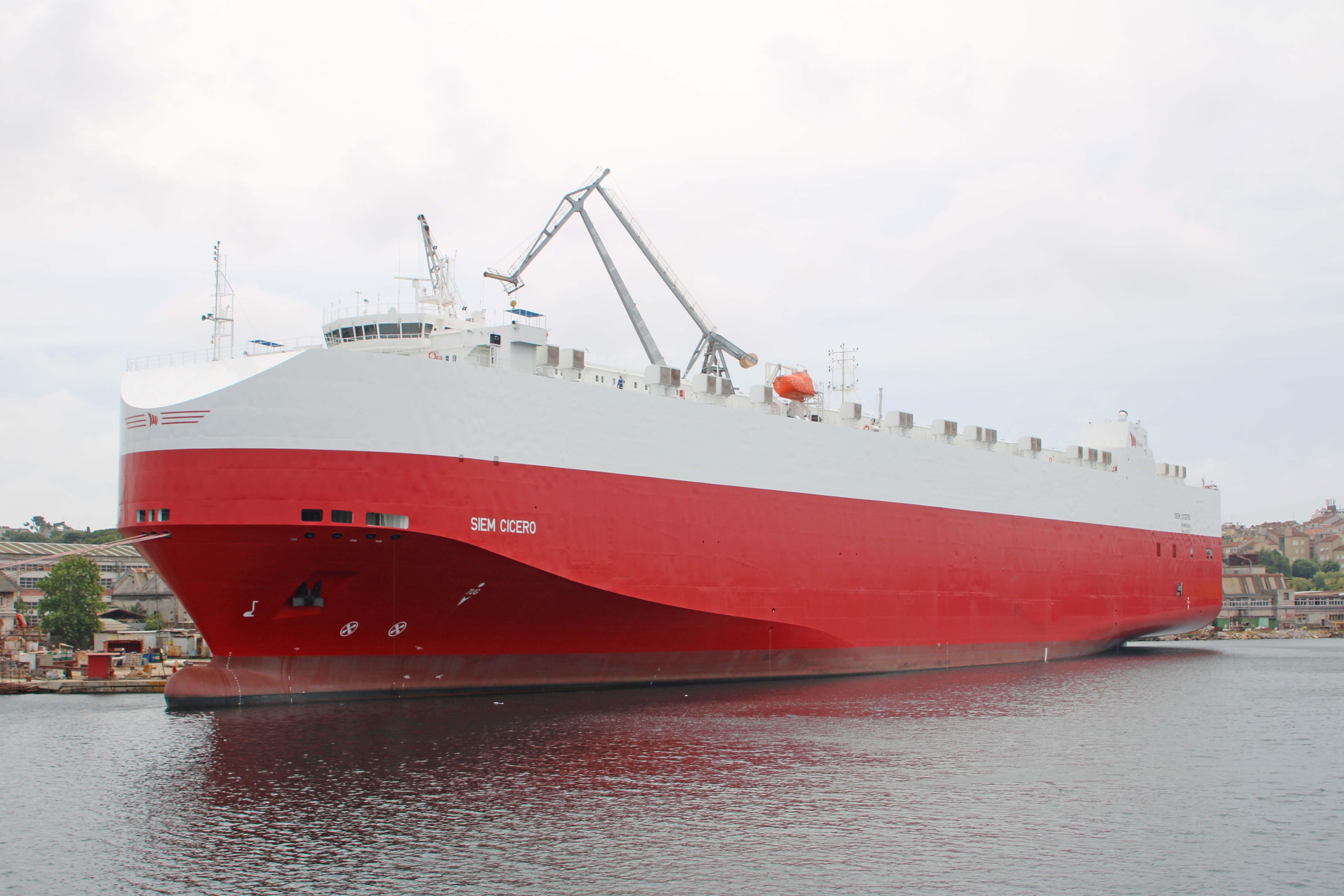 SIEM CICERO was delivered by Uljanik Shipyard in 2017