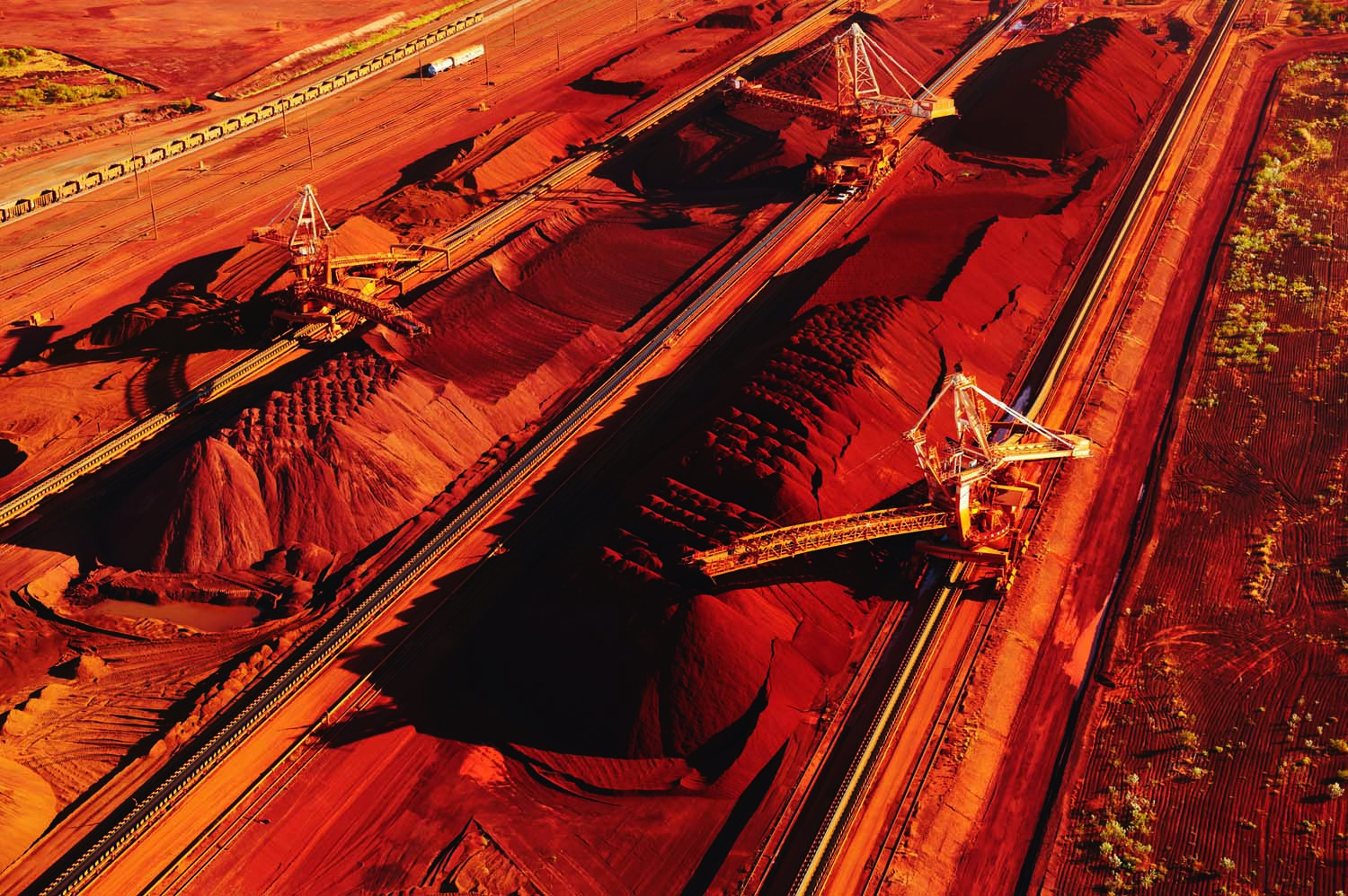 Since 2010, Pilbara Ports Authority has relocated external stockpiles from the east of Port Hedland