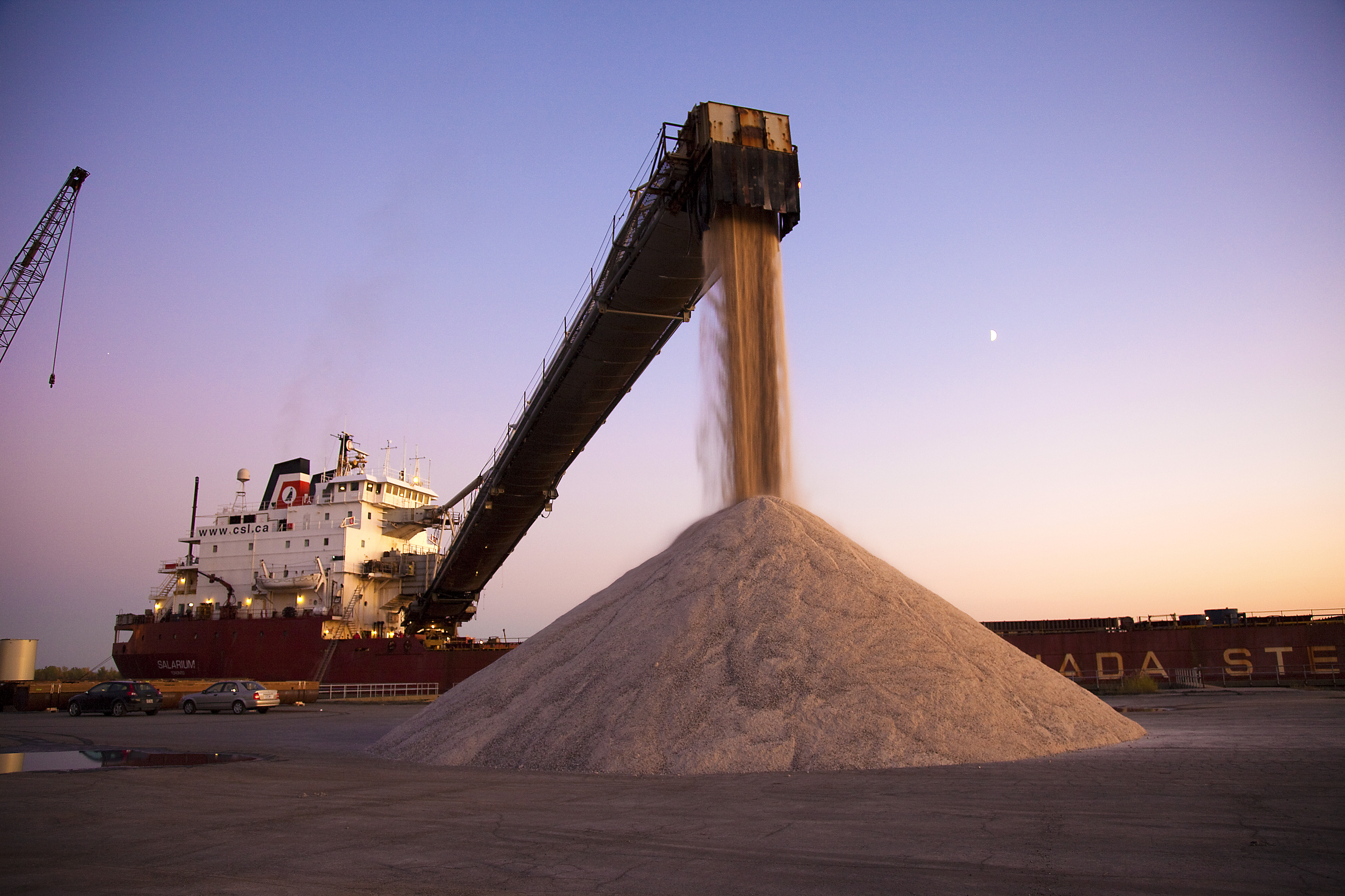 Mild winters have hit salt volumes for the Lakers