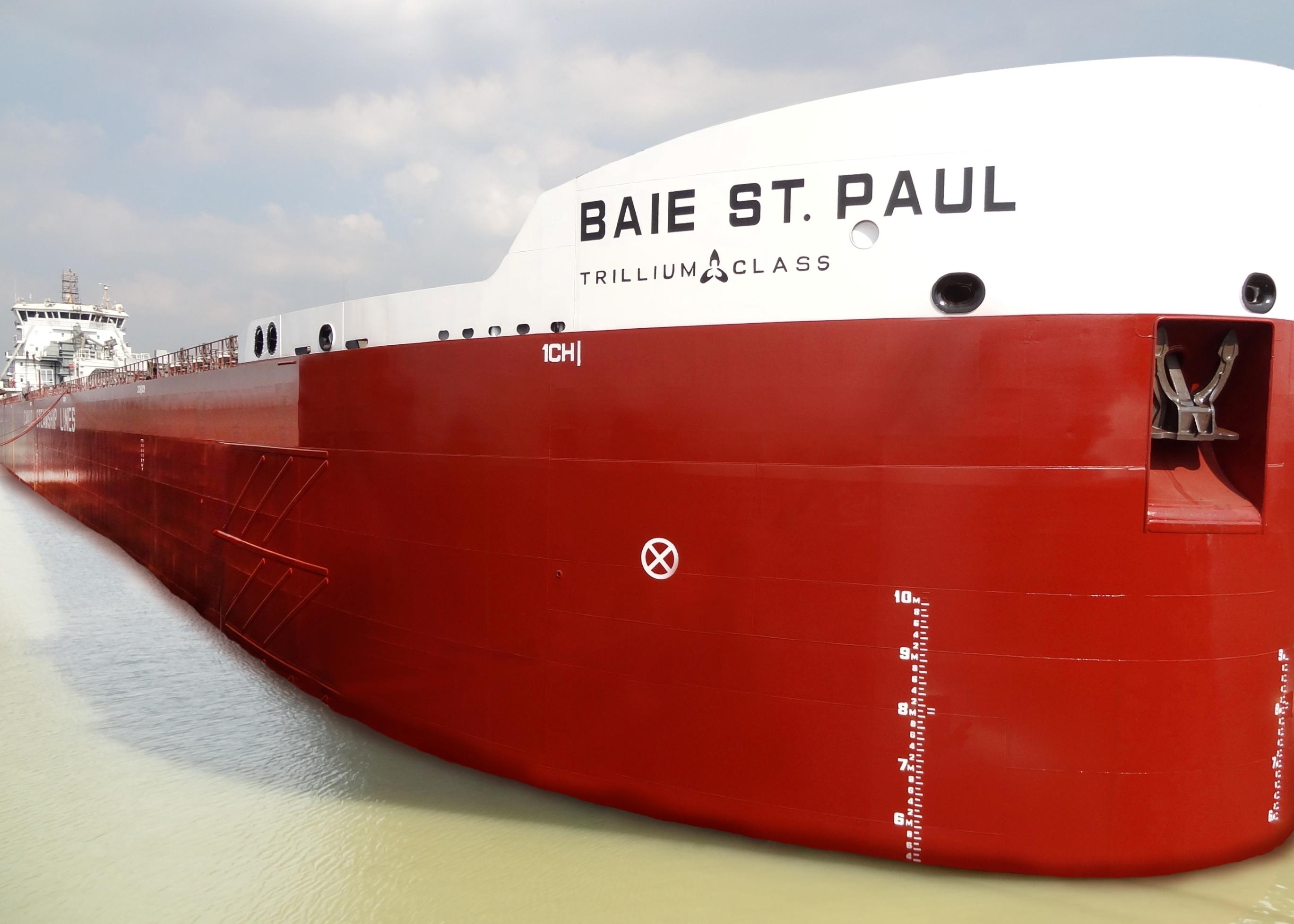 CSL has put a total of 11 newbuild Trillium Class vessels into operation since 2012
