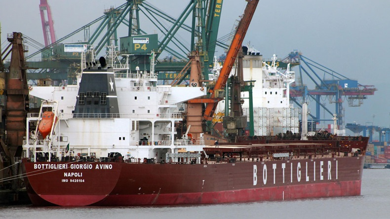 Bain Capital has taken control of troubled Italian family-run Giuseppe Bottiglieri Shipping