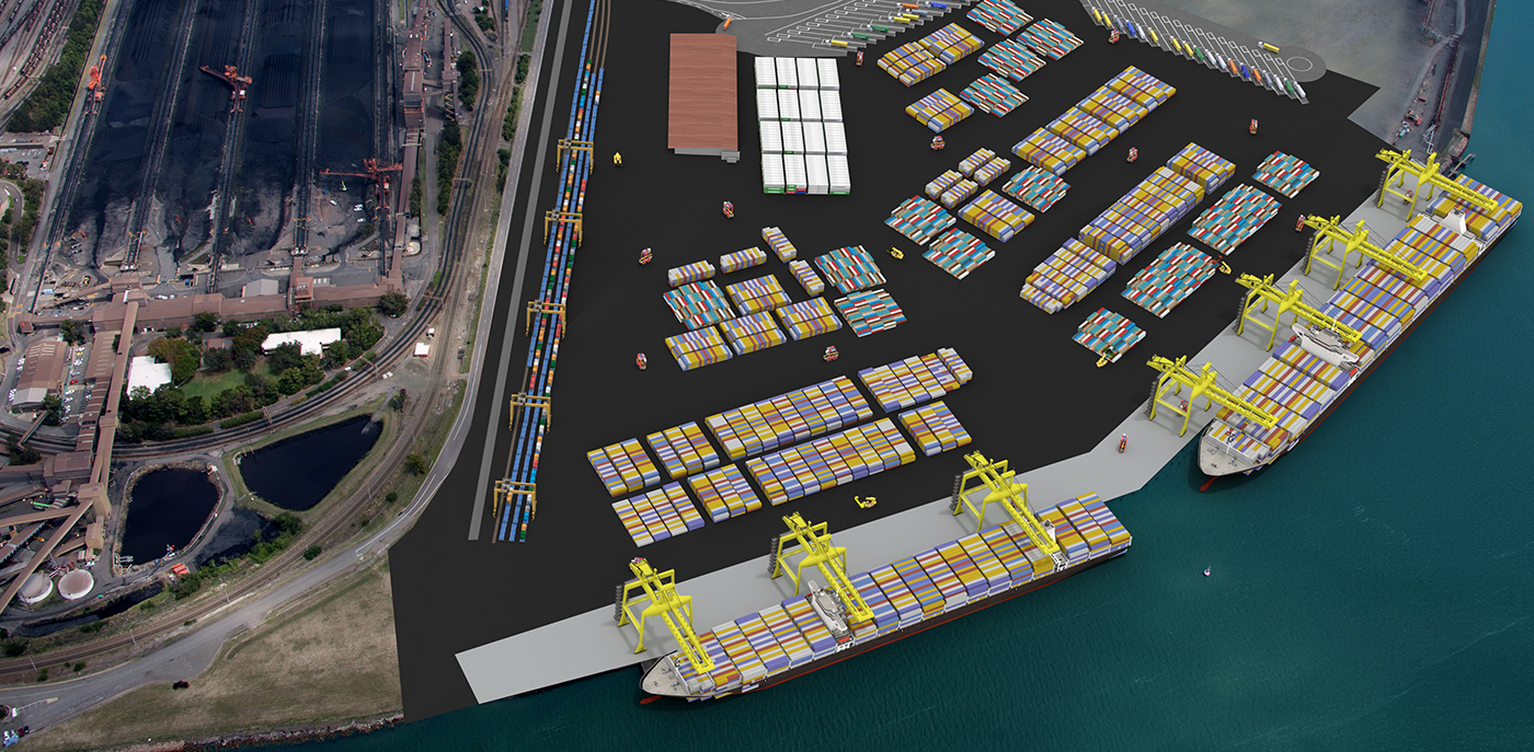 Newcastle invites bids for box terminal
