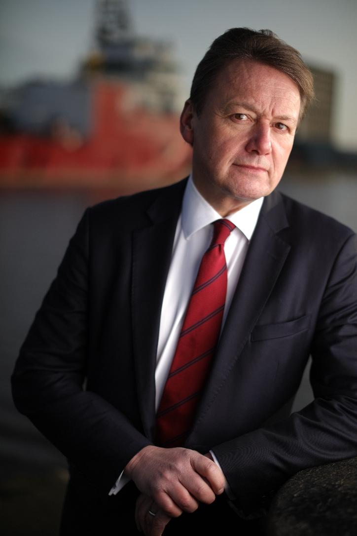 Charles Hammond, CEO, Forth Ports
