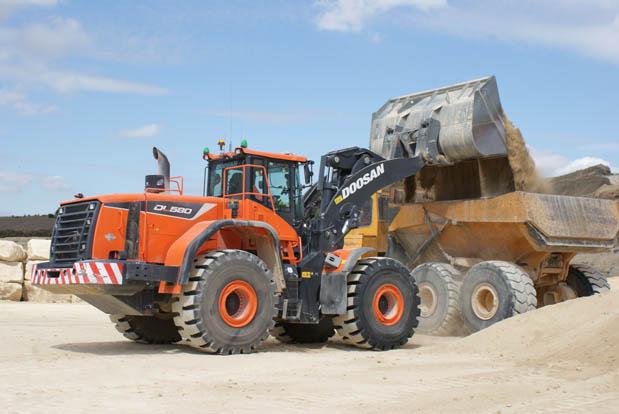 Doosan DL580-5 boosts quarry productivity