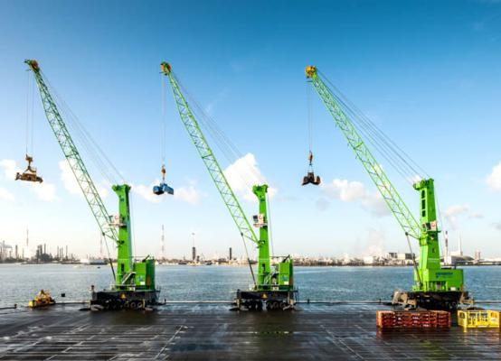 Belgian firm orders 15th Konecranes Gottwald MHC