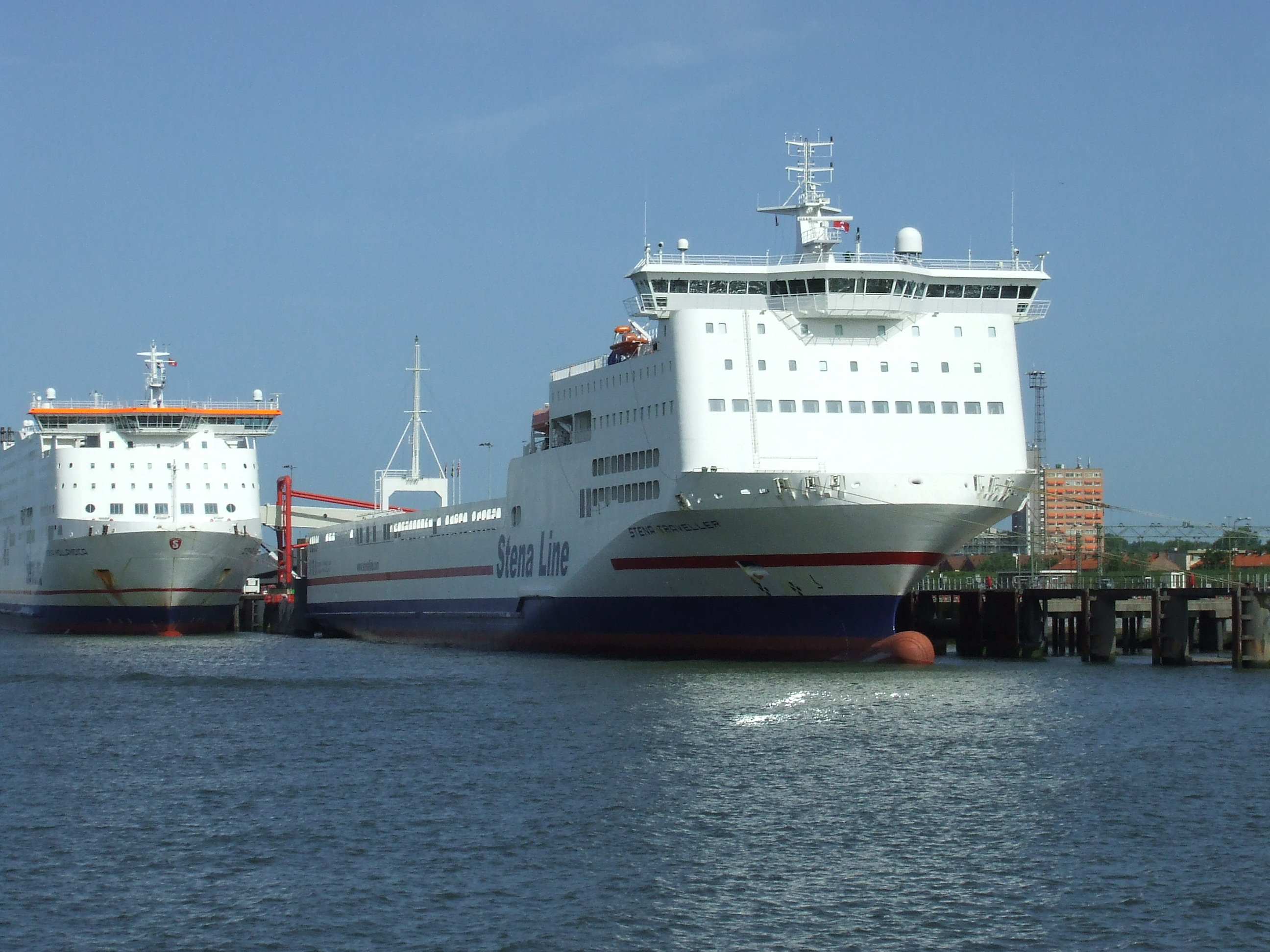 Stena Line's terminal in the Hook of Holland