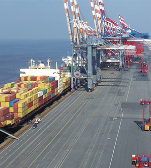 Energy and Data Transmission Systems for Container Handling Equipment