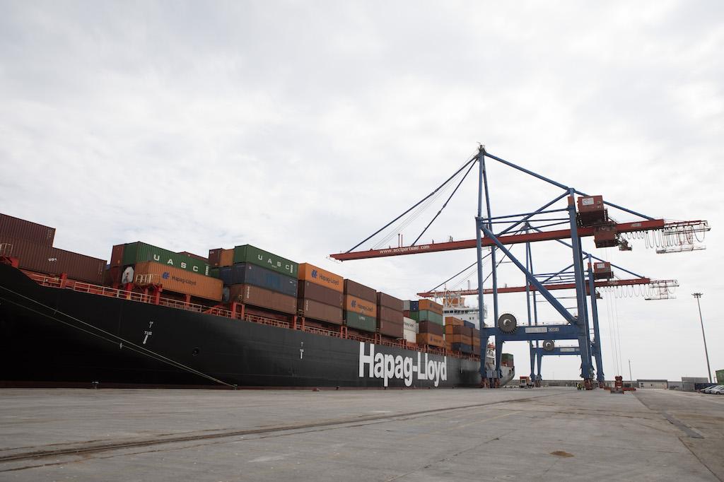 Hapag-Lloyd's Mississauga Express at Malaga