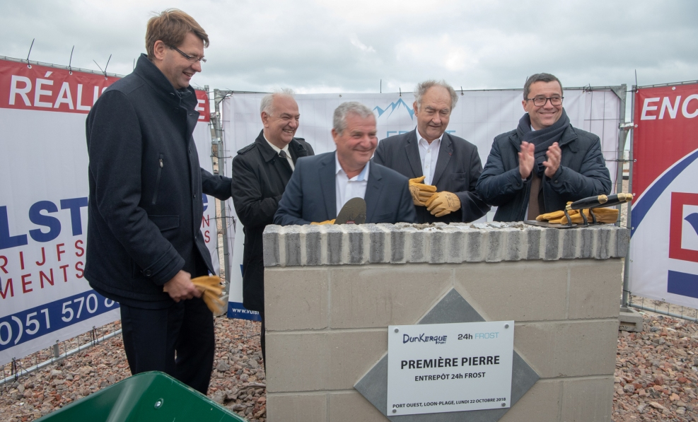 Breaking ground for the new 24h Frost facility on Monday, 22nd October