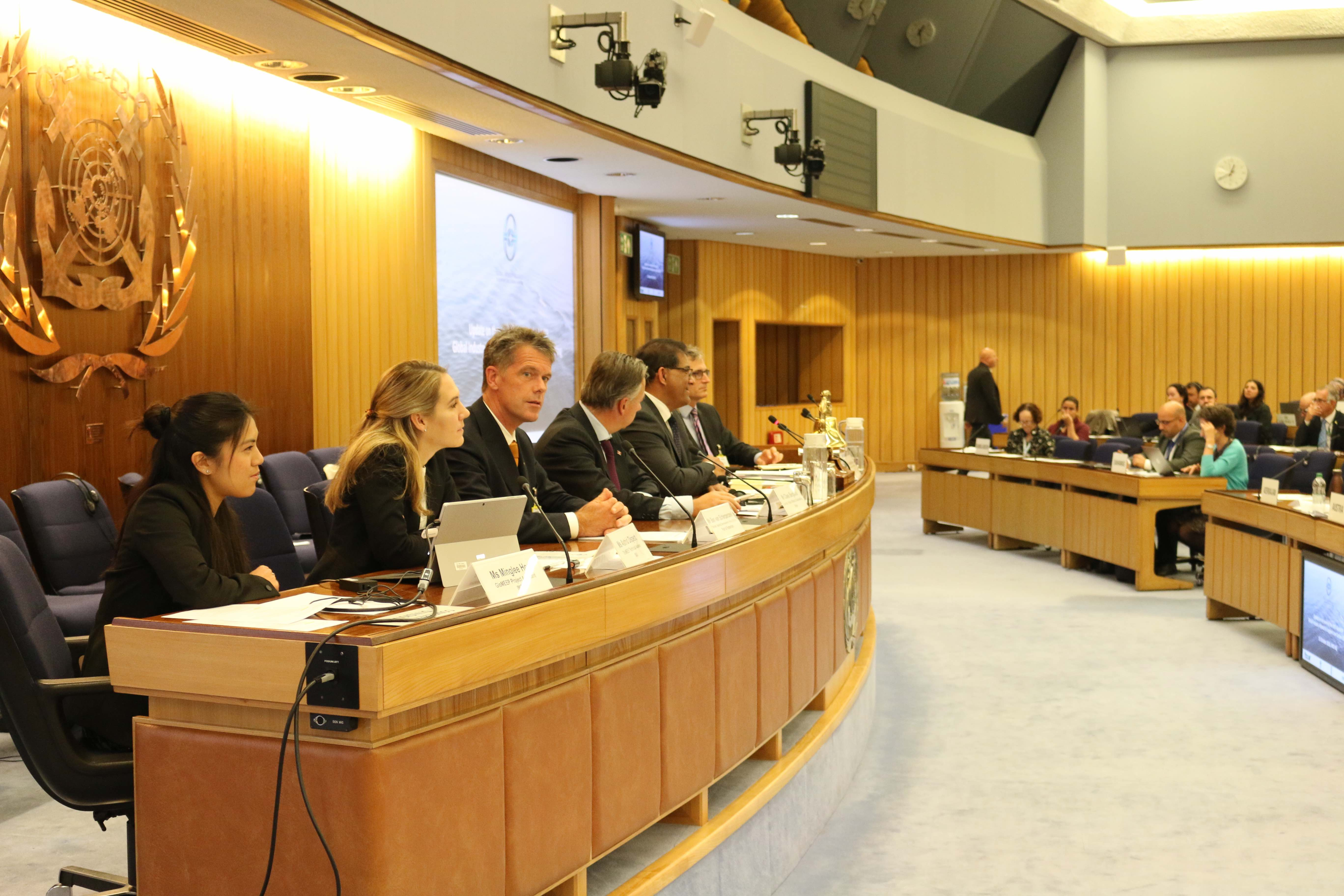 Port of Rotterdam/TNO joint presentation to IMO Committee meeting in London last week