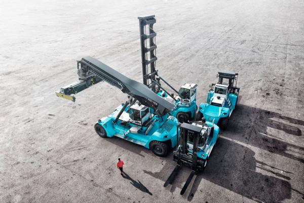 Toll orders over 40 Konecranes lift trucks