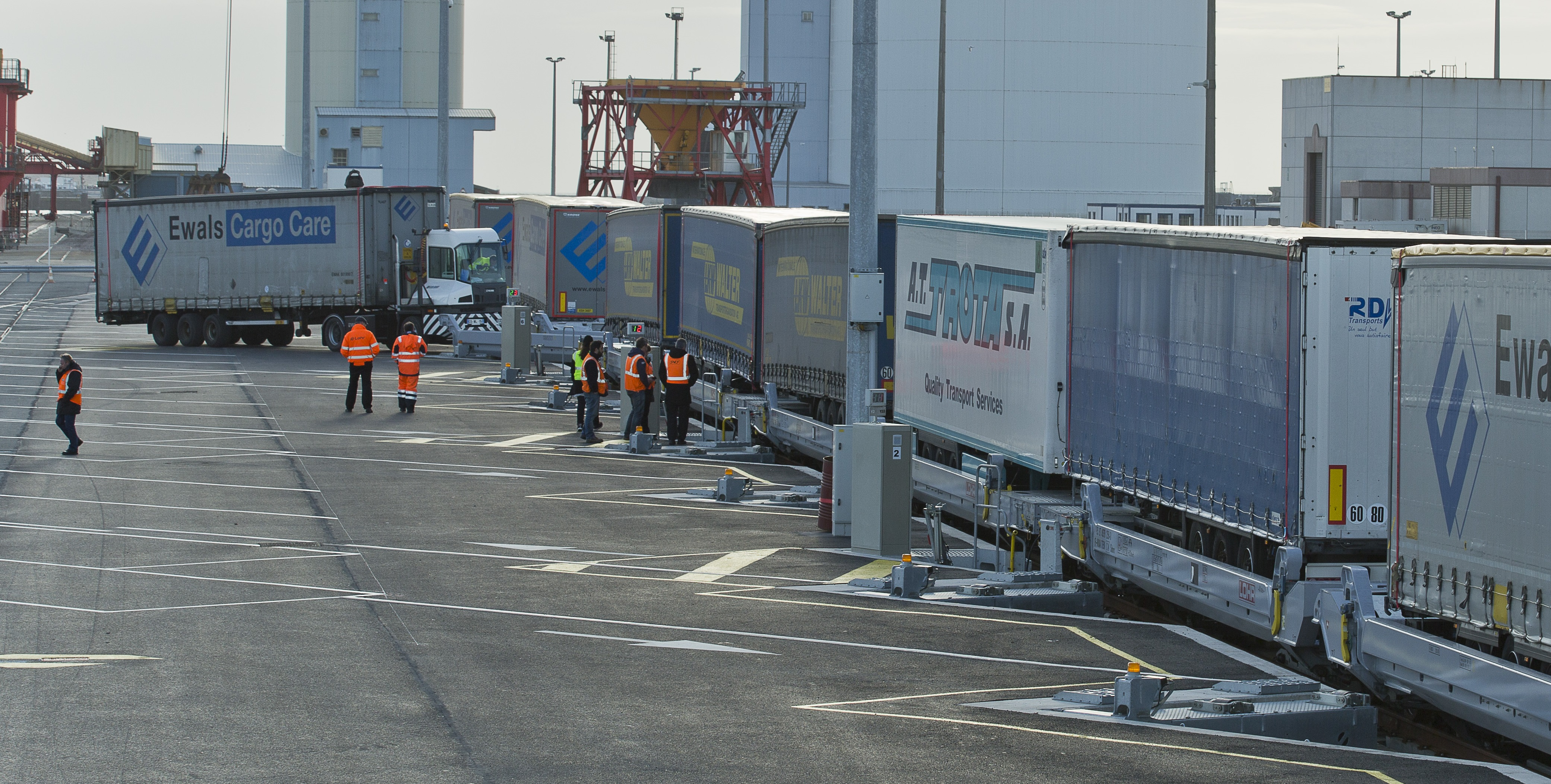 VIIA transported 6,500 trailers between Calais and Le Boulou last year. (Photo: M.Guilbert)