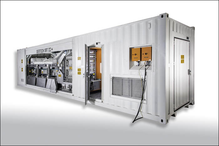 An XRT Coarse Concentrator Plus unit