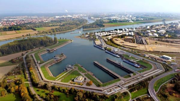 Nordhafen (Ludwigshafen) is strategically vital for BASF