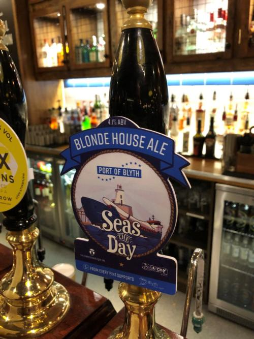 The beer is now available on draft in a local inn in Blyth