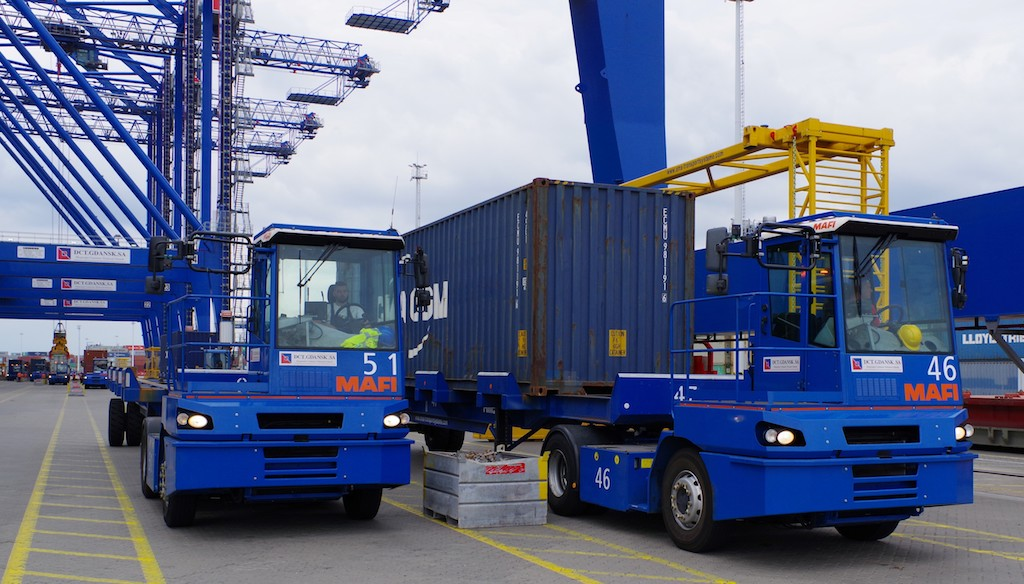 MAFI with repeat order for DCT Gdansk