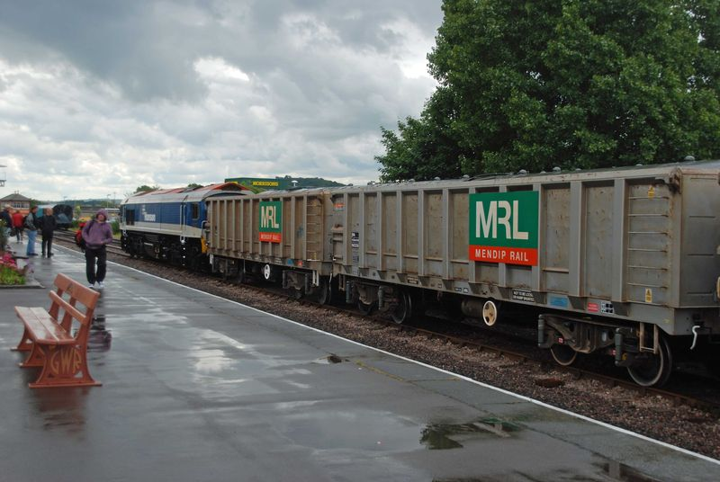 Aggregates haulier Mendip Rail was one of the customers involved in designing the new portal