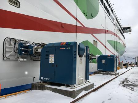 Cavotec MoorMaster for Far East ro-ro berth