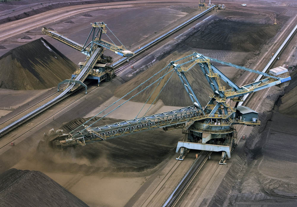 ThyssenKrupp equipment at BHP's existing Area C iron ore mine
