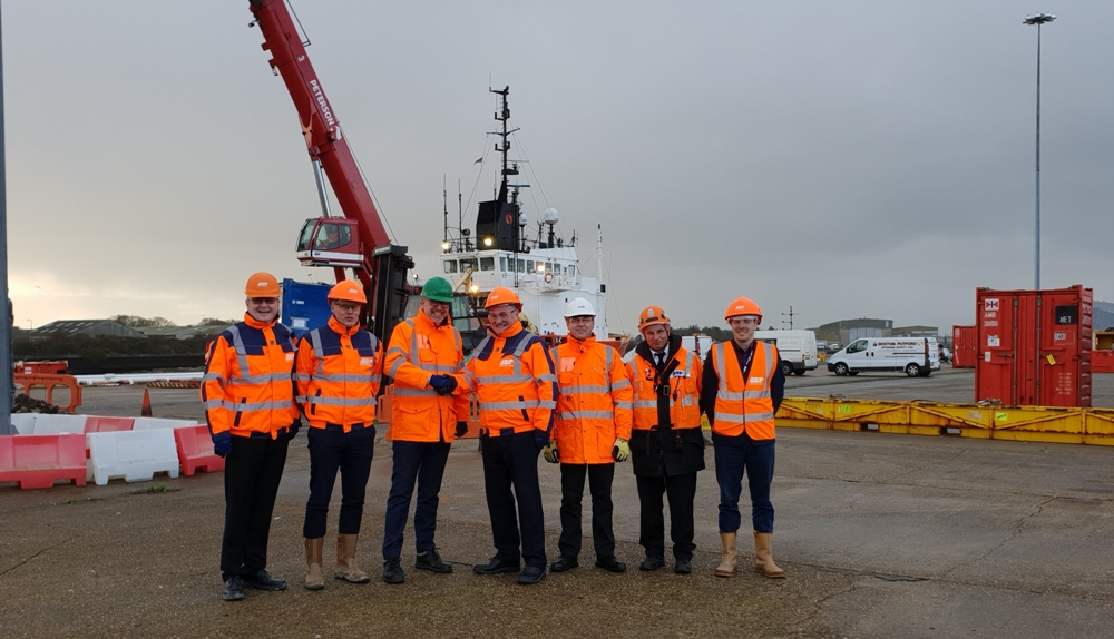 ABP local management team welcomes Peterson UK to Lowestoft