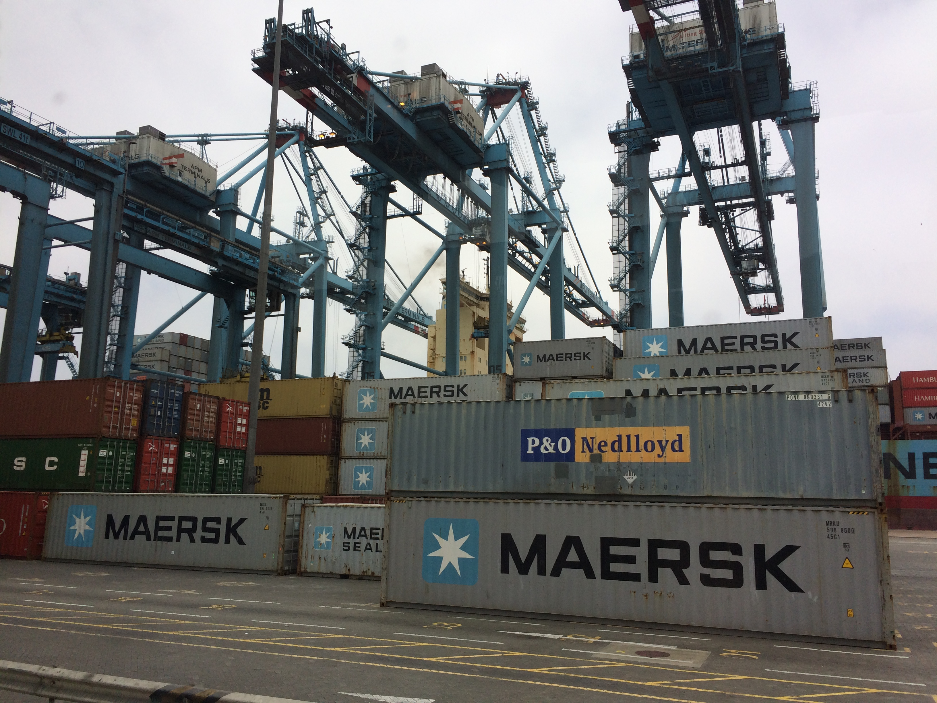 Utilisation up for APM Terminals