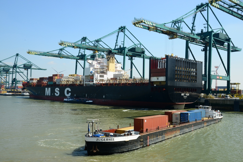 Container barges must require more than 30 moves to be able to call at the marine terminals