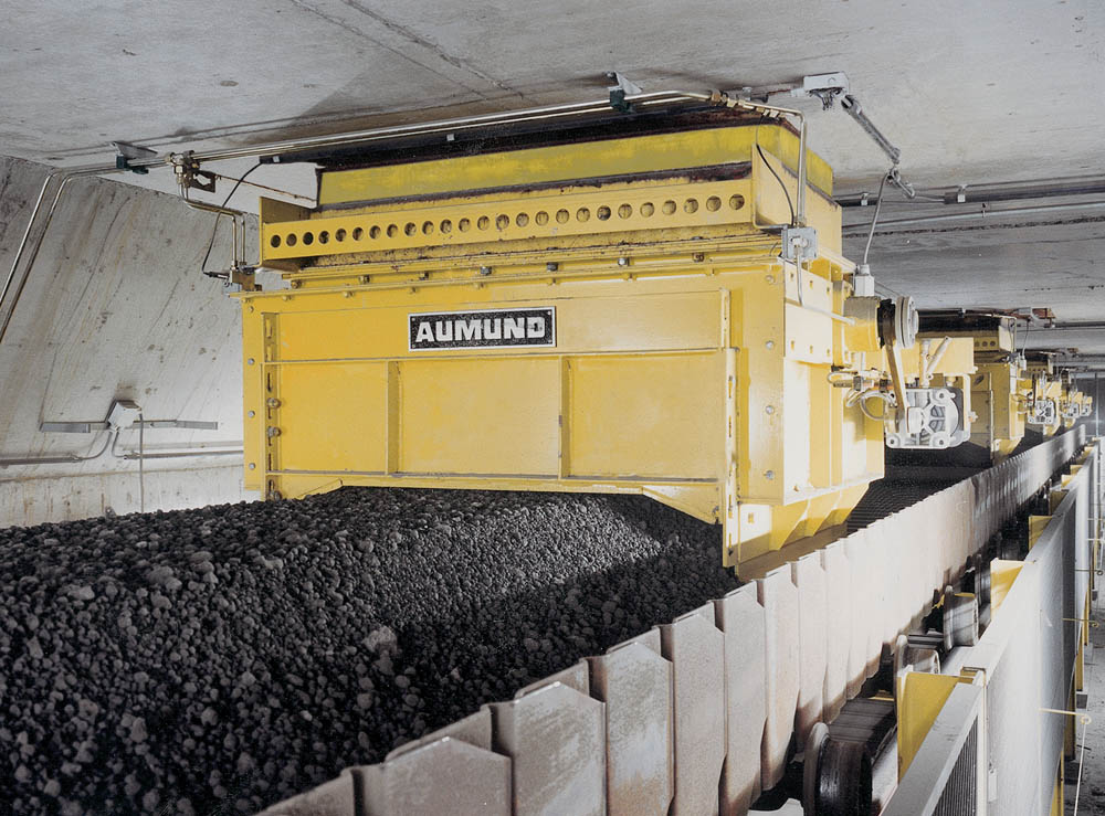 An example of Aumund's Silo Discharge Gates