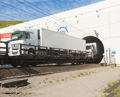 Eurotunnel carried a record 1.7M trucks in 2018