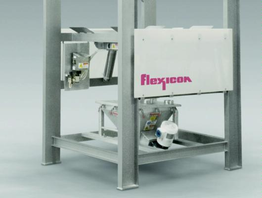 New sanitary bulk bag discharger from  Flexicon