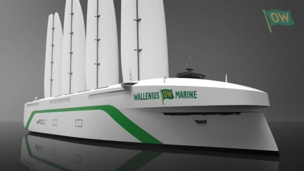 Swedes to back wind-powered car carrier