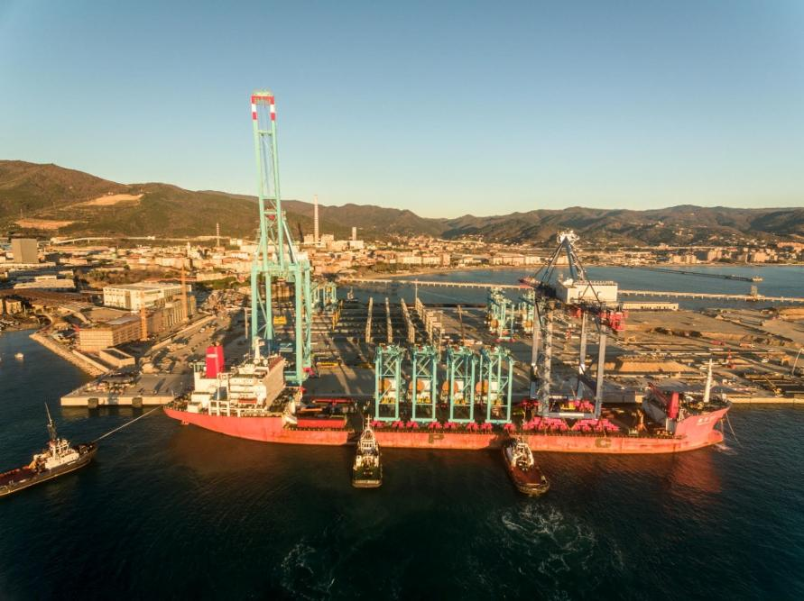 APM Terminals Italia is responsible for Italy's first semi-automated container terminal