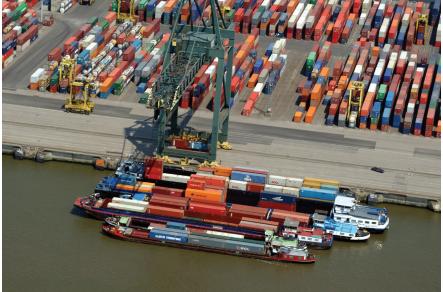Antwerp extends minimum barge call regime
