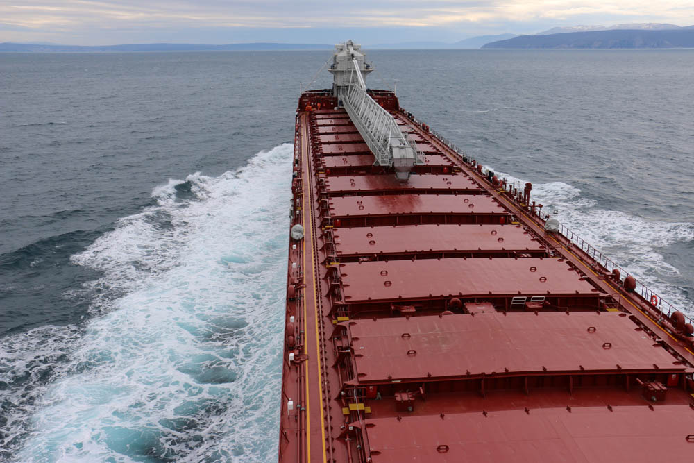 ALGOMA INNOVATOR was built in Croatia and joined the carrier's fleet in spring this year