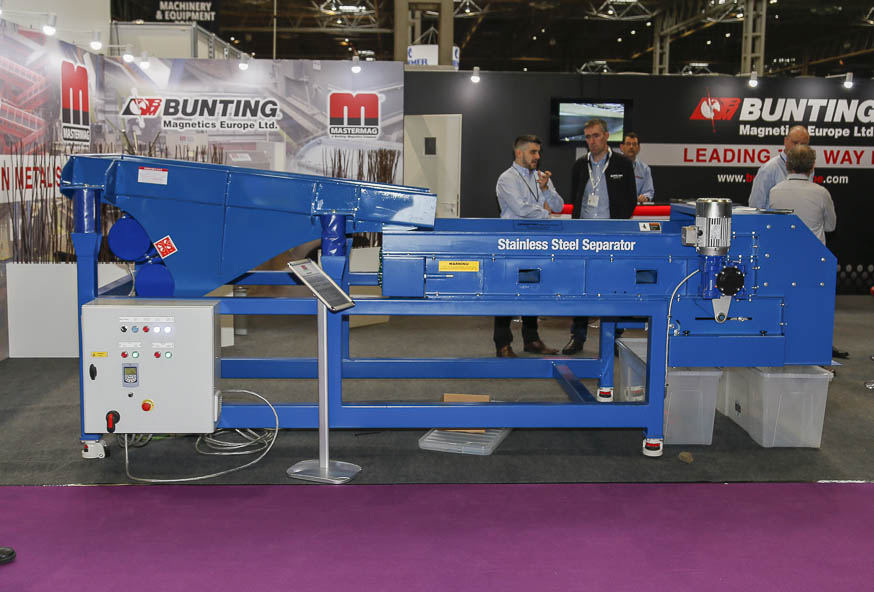 The SSSC demonstrated at the RWM 18 exhibition