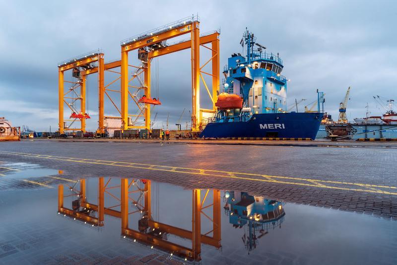 New RTG cranes for Klaipeda