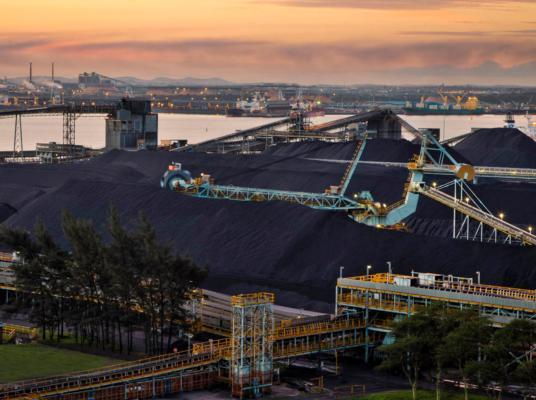 Richards Bay Coal Terminal exports fall
